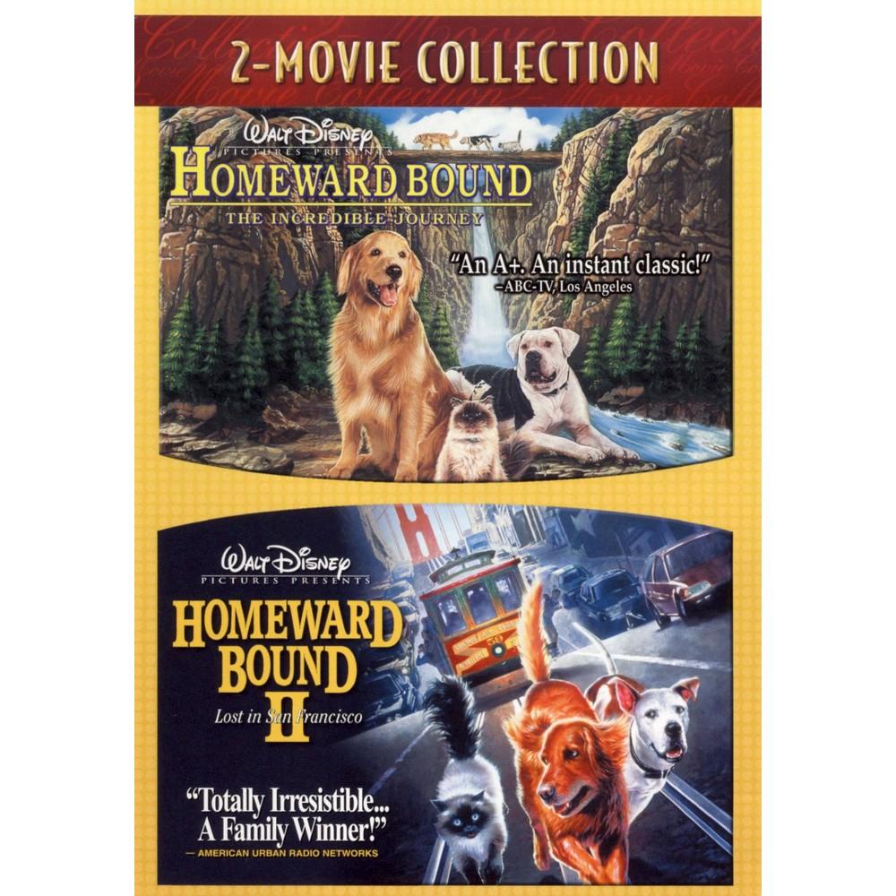 Homeward Bound The Incredible Journey Homeward Bound Ii Lost In San Francisco Dvd