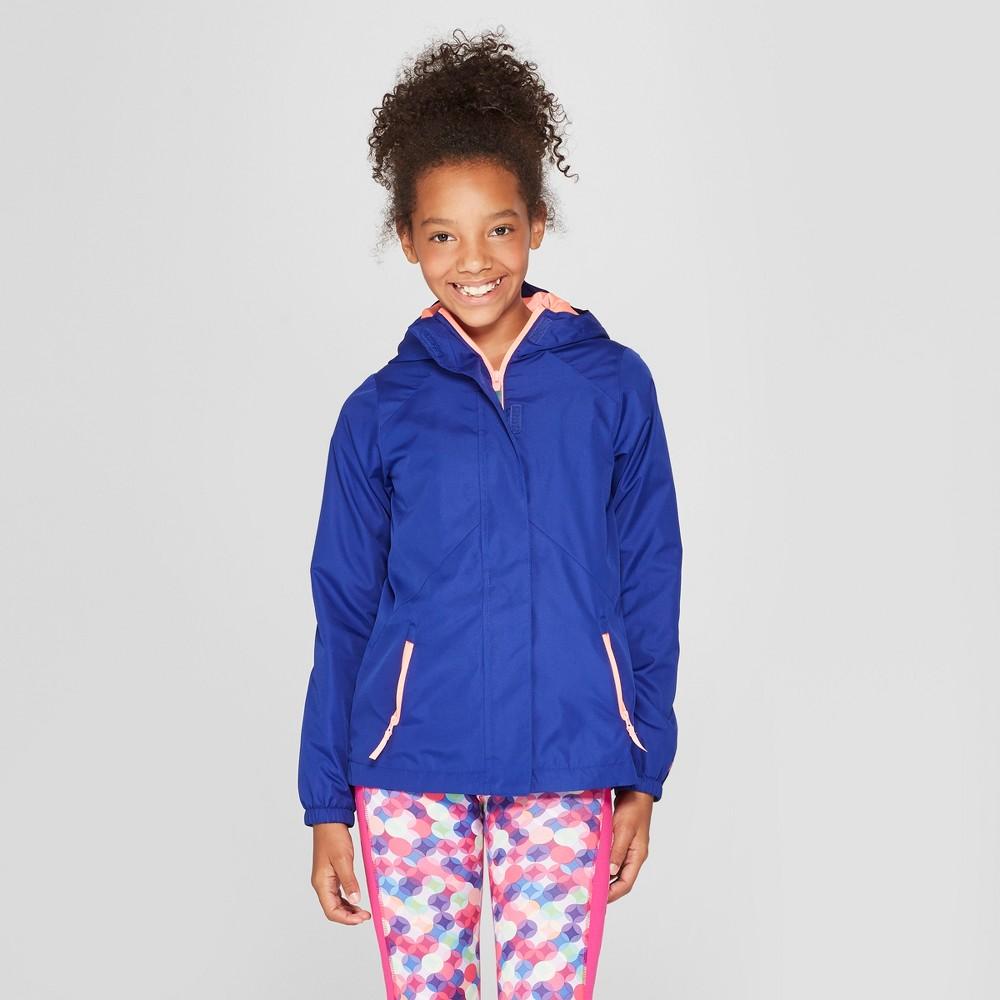 Girls' All Weather Windbreaker Jacket - C9 Champion Blue S