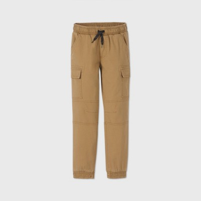 Boys' Pull-On Cargo Jogger Pants - art class™ Brown