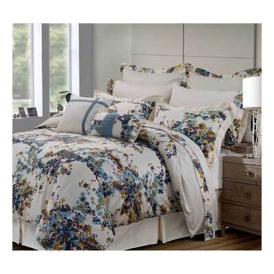 Casablanca 300tc Cotton Sateen Bed in a Bag with Deep Pocket Sheet Set (Queen)12pc - Tribeca Living