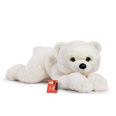 "FAO Schwarz Adopt-A-Pets Polar Bear 22"" Stuffed Animal with Adoption Certificate"