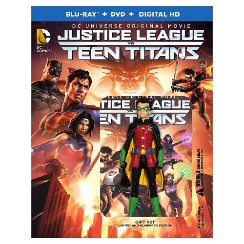 Justice League vs Teen Titans (Deluxe) (Blu-Ray/Dvd/Digital)