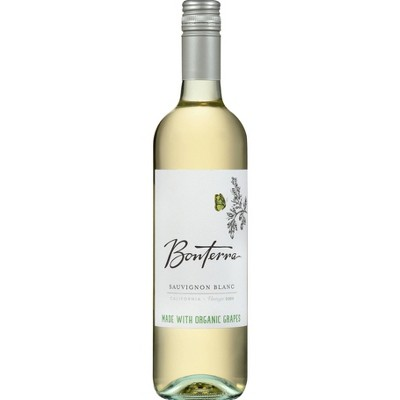 Bonterra Sauvignon Blanc/Fume White Wine - 750ml Bottle