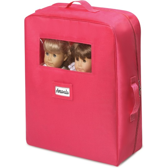 Badger Basket Double Doll Travel Case with Bunk Bed image number null