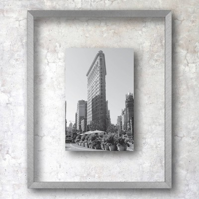 """8"""" x 10"""" Float Thin Gallery Frame Silver - Project 62™"""