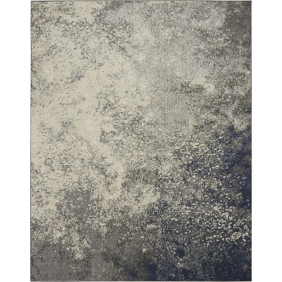 Nourison Passion PSN10 Charcoal/Ivory Indoor Area Rug