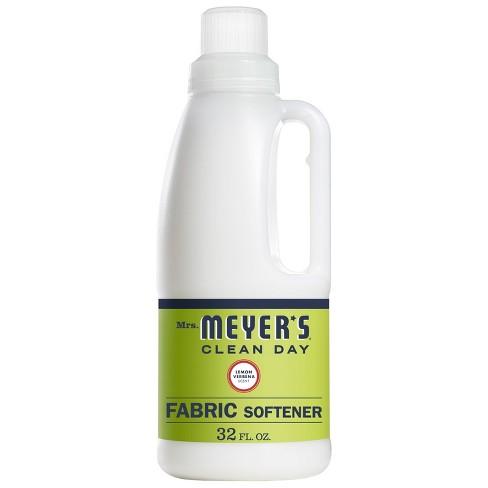 Mrs. Meyer's Lemon Verbena Fabric Softener - 32 fl oz - image 1 of 4