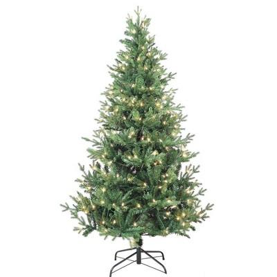 Kurt Adler 6' Pre-Lit Clear Incandescent Jackson Pine Tree