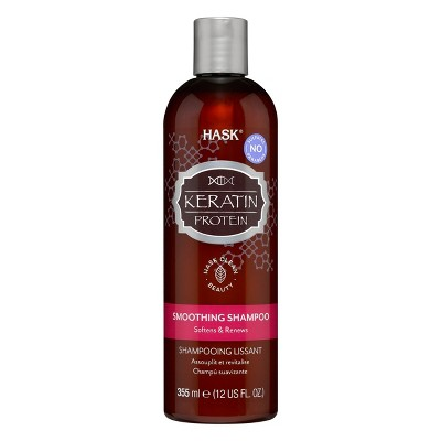 Hask Keratin Protein Smoothing Shampoo - 12 fl oz