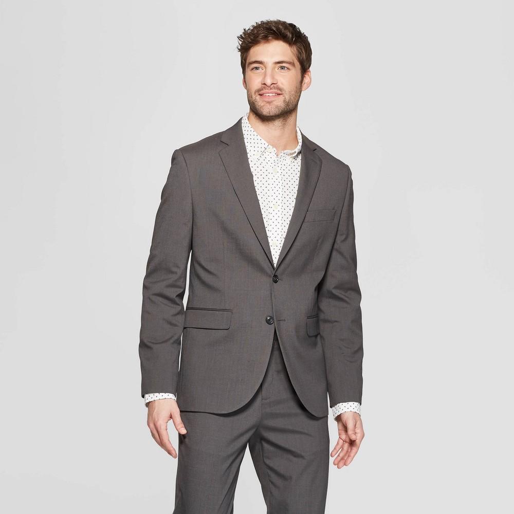 Men's Slim Fit Suit Jacket - Goodfellow & Co Charcoal (Grey) 38R