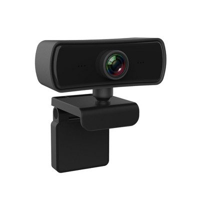 Dartwood 2K QHD USB Webcam with Built-in Microphone and Lens Cover for Conferences and Presentations