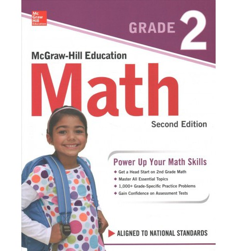 McGraw-Hill Education Math, Grade 2 (Paperback) - image 1 of 1