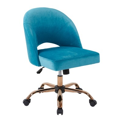 Lula Office Chair Cruising Blue - OSP Home Furnishings