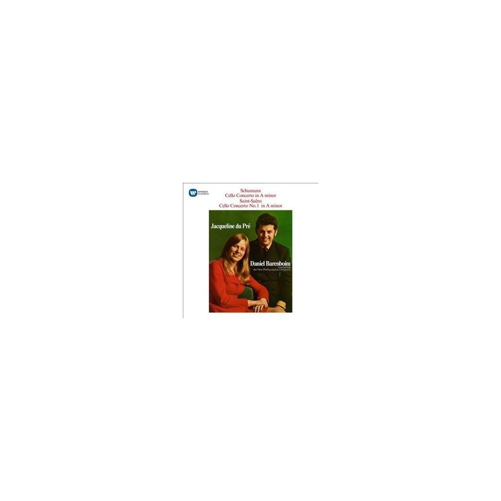 Jacqueline Du Pre - Schumann:Cello Cto/Saint Saens Cello (CD)