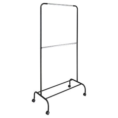 2 Tier Garment Rack Black/Silver - Room Essentials™