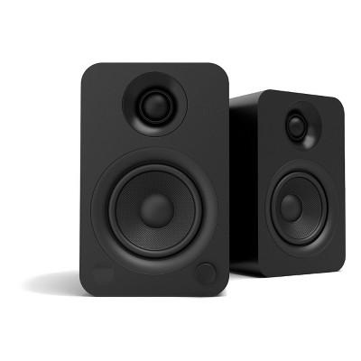 Kanto YU Powered Bookshelf Speaker with Bluetooth (Matte Black) - Pair