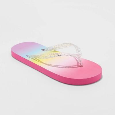Girls' Sam Flip Flop Sandals - Cat & Jack™ 2-3
