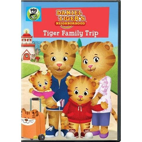 Daniel Tiger's Neighborhood: Tiger Family Trip (DVD) - image 1 of 1
