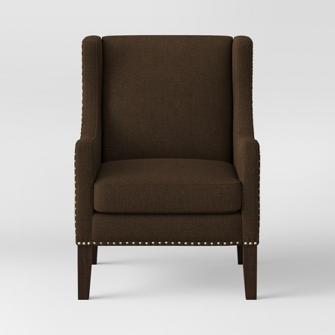 Jackson Wingback Chair - Threshold™ - image 1 of 4