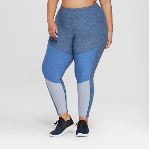 Women's Plus Size High-Waisted 7/8 Leggings - JoyLab™ - image 1 of 2