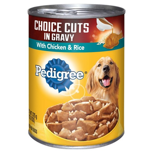 pedigree chicken and rice wet dog food 13 2oz target