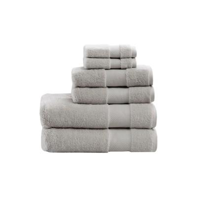 Bath Towels Sets Silver