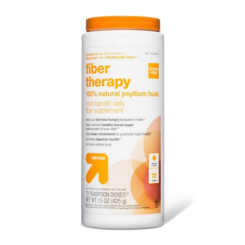 Fiber Therapy Multi-Benefit Daily Fiber Supplement - Orange - 72 doses - up & up™ - image 1 of 1
