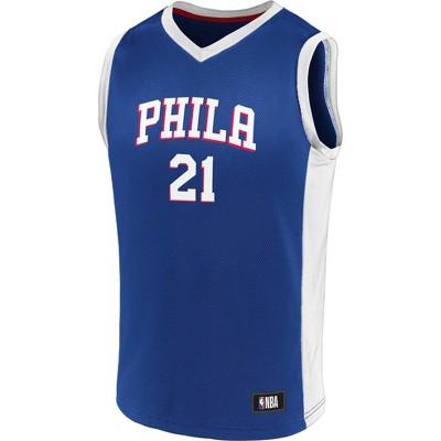 NBA Philadelphia 76ers Boys' Jersey - XL