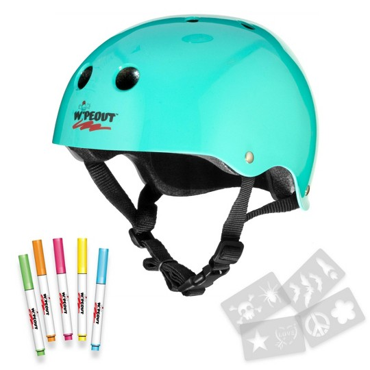 Wipeout Dry Erase Helmet - Teal image number null