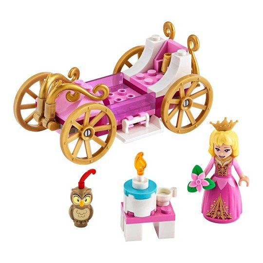 LEGO Disney Aurora's Royal Carriage 43173 Princess Building Playset image number null