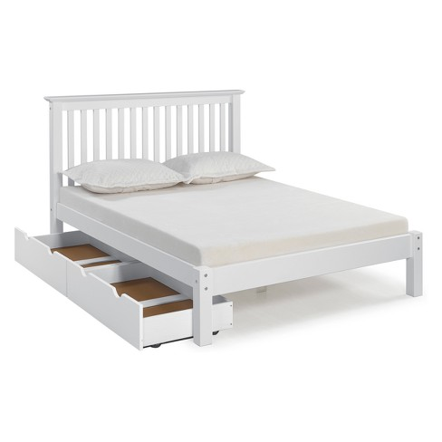 Barcelona Full Bed With Storage Drawers - Bolton Furniture : Target