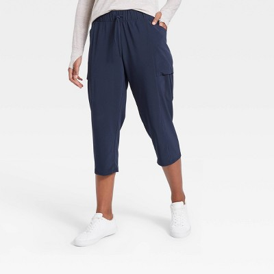 Women's Stretch Woven Tapered Capri Leggings - All in Motion™
