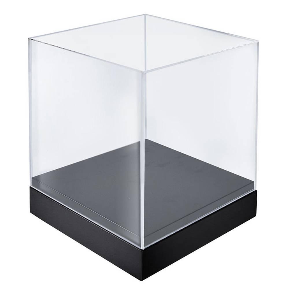Azar Displays 10 Deluxe Clear Cube Showcase