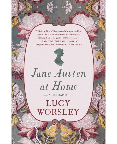 Jane Austen at Home (Hardcover) (Lucy Worsley) - image 1 of 1