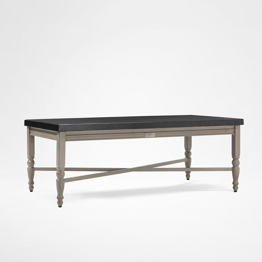 Saylor Rectangular Aluminum Top Outdoor Coffee Table - Blue Oak Outdoor