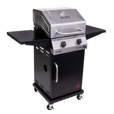 Char-Broil 2-Burner Performance Cabinet 300 Gas Grill 463660021 Black