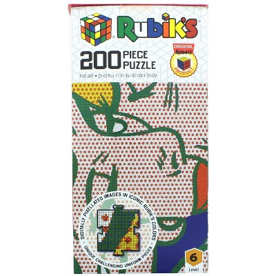 Rubik's Pop Art 200 Piece Jigsaw Puzzle