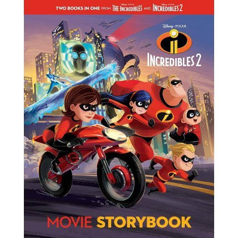 Incredibles 2 Movie Storybook (Disney/Pixar the Incredibles 2) - (Paperback) - image 1 of 1