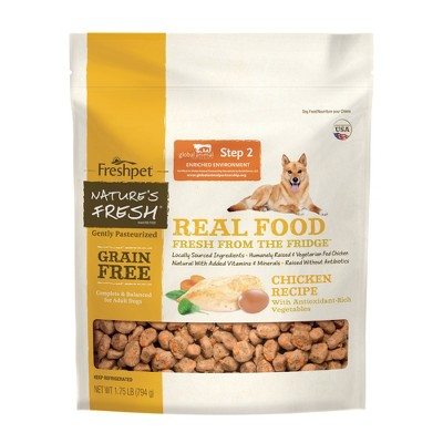Freshpet Nature's Fresh Grain Free Chicken Recipe Refrigerated Dog Food