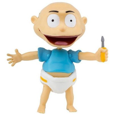 """The Zoofy Group LLC Nicktoons Rugrats 3"""" Action Figure: Tommy"""