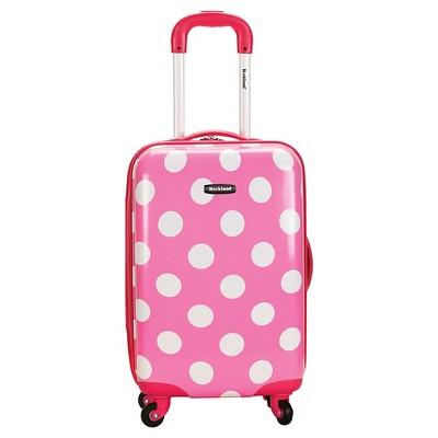 """Rockland Reno 20"""" Polycarbonate Suitcase"""