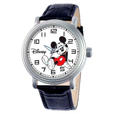 Men's Disney Mickey Mouse Vintage Watch - Black