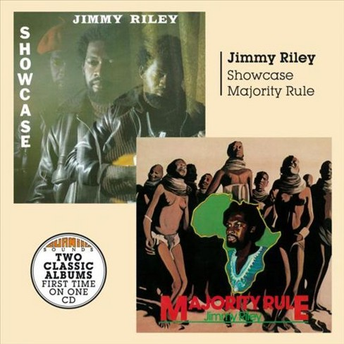 Jimmy riley - Showcase & majority rule (CD) - image 1 of 1