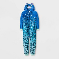 Girls' One Piece Pajamas - Cat & Jack™ Blue