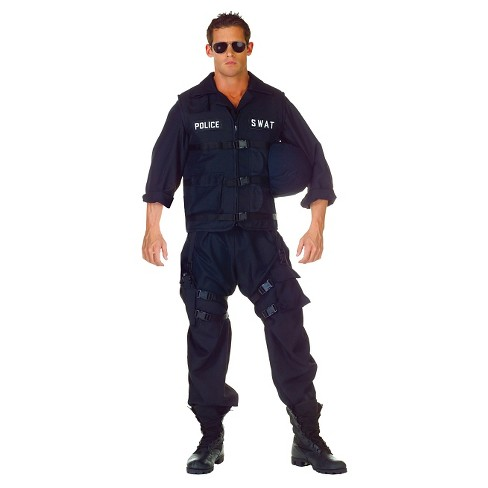 Men's SWAT Costume - image 1 of 1