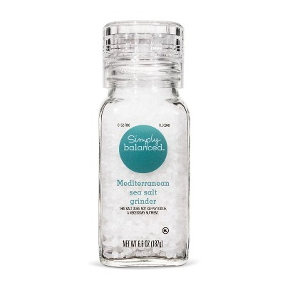 Mediterranean Sea Salt - 6.6oz - Simply Balanced™