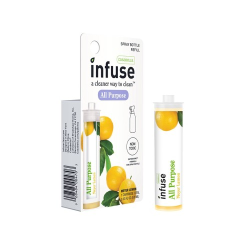 Casabella Infuse All Purpose Cleaner Refill Concentrate – Meyer Lemon - 0.33oz - image 1 of 4
