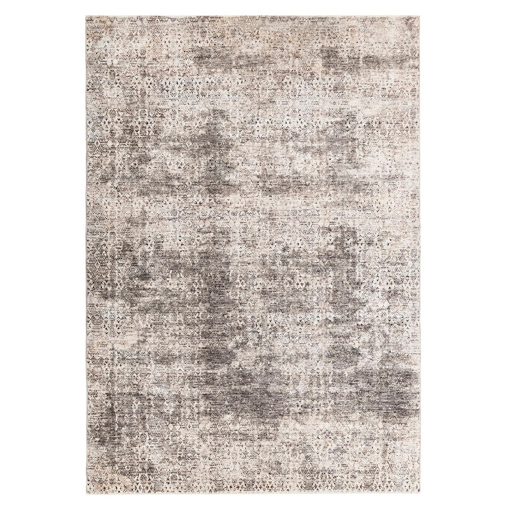 2'X3' Fleck Woven Accent Rug Ivory - Liora Manne, White