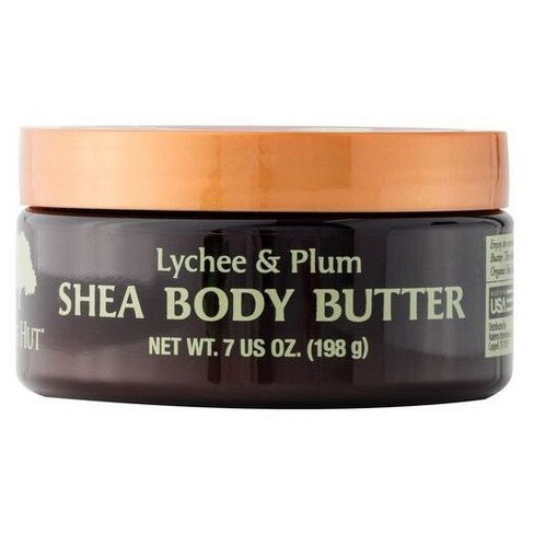Tree Hut 24 Hour Intense Hydrating Shea Body Butter Lychee & Plum - 7oz - image 1 of 1
