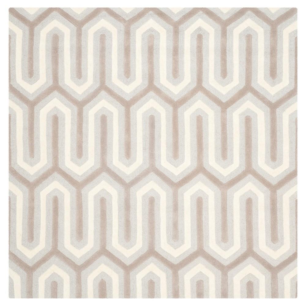 Aveline Textured Area Rug - Light Blue/Gray (6' Square) - Safavieh